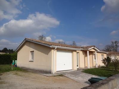 Maison individuelle de type 4 avec jardin