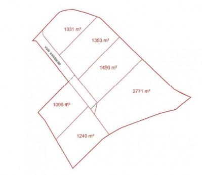 Terrain 9870 m²