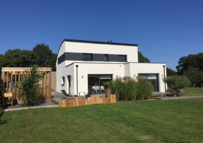 Maison contemporaine 166m² et studio de 28m²