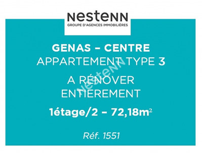 Investment property apartment Genas