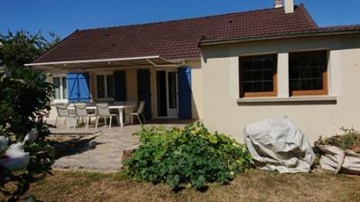 Maison gare à pieds avec jardin