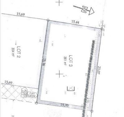 Terrain a bâtir eyguieres - 361 m²