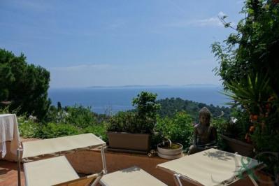 Villa provençale à vendre avec vue mer