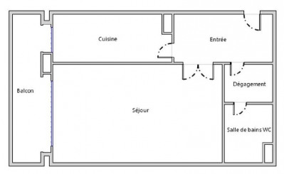 STUDIO PARIS 15 - 1 pièce(s) - 33 m2
