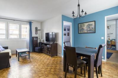 3 pièces 58 m² vide