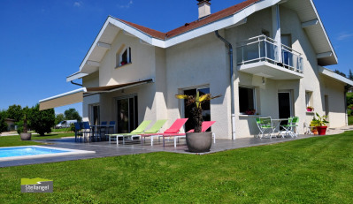 CHAVANOD - 5mn Annecy - Belle villa contemporaine 5 chambres de