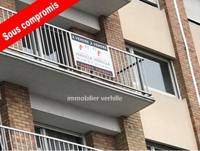 Appartement Lomme 2 pièce (s) 47.01 m²