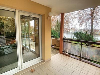 Appartement avec terrasse vue sur seine