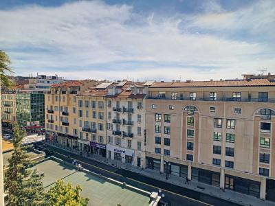 3 pièces 108m² - nice pastorelli - étage élevé - sud/ou