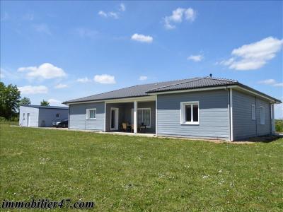 Maison a ossature bois - 4 pièces - 152 m²