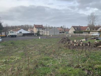 Terrain à bâtir lot avant