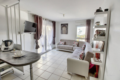 Appartement 2 pièces avec balcon - 42 m² - 69500 Bron