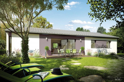 Terrain 425m² + maison 90m²