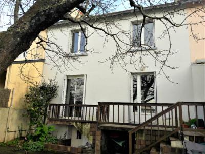 Maison 3 chambres avec jardin clos
