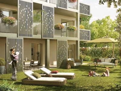Coeur CRAPONNE, T3 de 62,60 m² avec Terrasse et Jardin
