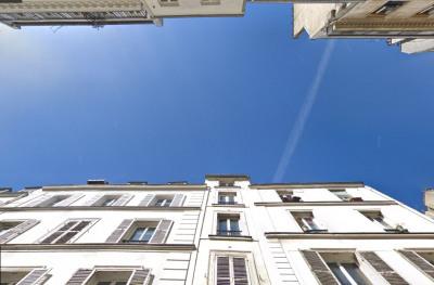 2 pièces dans le ciel de Montmartre