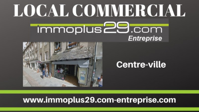 Local commercial Quimper 87 m²