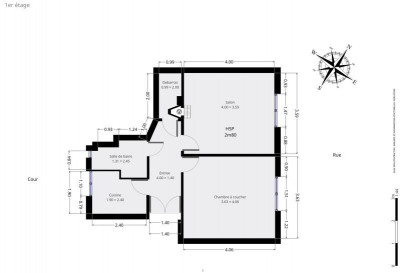 2 间房间