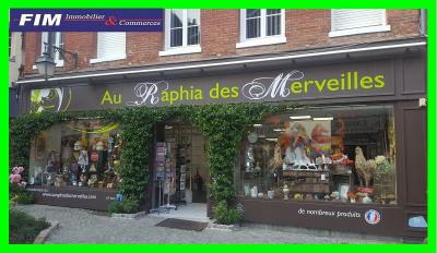 Fonds de commerce comp. Boutique 150 m² + réserve 200 m² parfait
