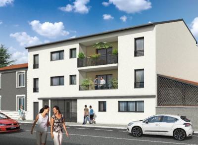Appartement T2 de 41,30 m² à Rillieux (69140)