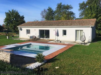 Villa contemporaine avec piscine - 4 pièces - 110 m²