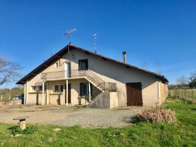Maison divisée en 2 logements à 5 MNS de Pontonx