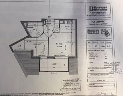 Appartement Sautron 2 pièce (s) 33.6 m²