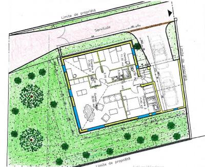 Villa de plain pied 85m² - 3 chambres + garage / centre ville