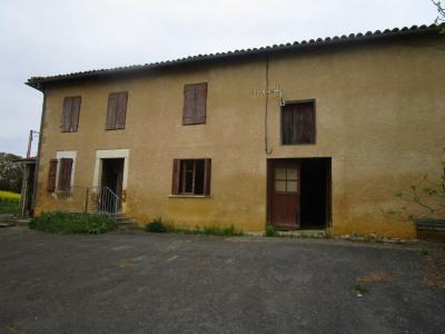 Propriété agricole 14 Ha de terrain avec vue sur les Pyrénées Boulogne sur Gesse