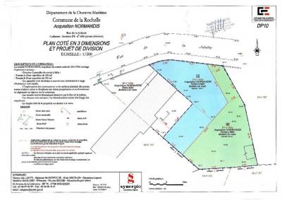 Terrain La Rochelle 335 m²