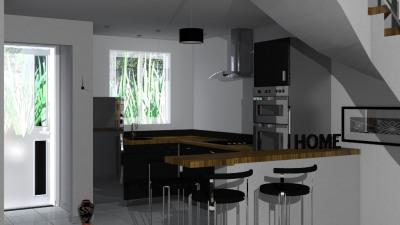 Maison st leu - 3 pièce (s) - 68.48 m²