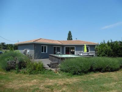 Maison bois avec piscine - 3 chambres