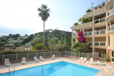 Le cannet résidentiel très beau 3 pièces sud vue mer piscine cal