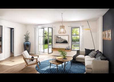 5 pièces 112m² avec Terrasse et jardin de 58m²