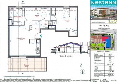 Sale apartment Genas (69740)