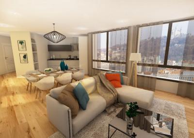 Appartement Lyon 5 pièces
