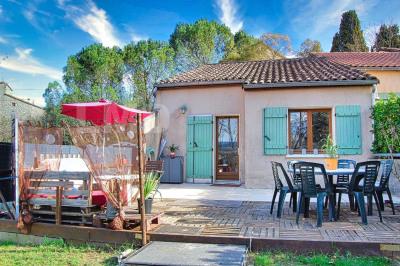Ardèche SUD, maison avec jardin