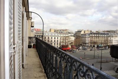 4 pièces vide + balcon