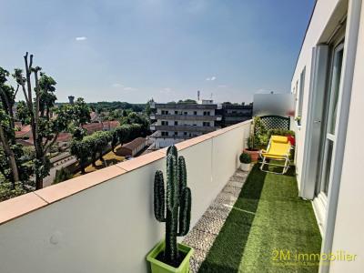 Vaux le pénil balcon avec vue dégagée