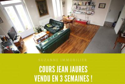 GRENOBLE Cours Jean Jaurès T4 DUPLEX dernier étage