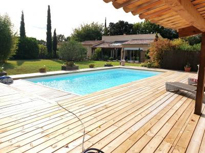 Villa 4 pièces avec piscine chauffée