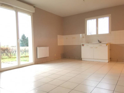 Appartement au rdc T2 55,49 m² + jardin 50 m² à Saint andré d
