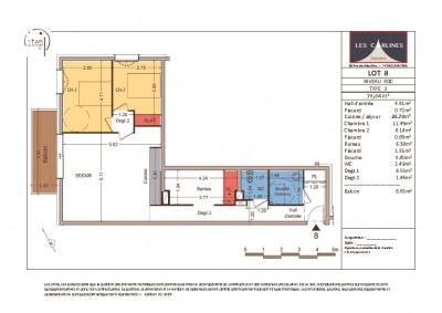 NEUF: Samoën Centre - Appartement 3 pièces 77 m²