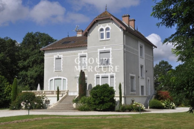 PROPERTY DOMBES 20 HA - HOUSE 600 m2 - NEAR - WOOD - POND -