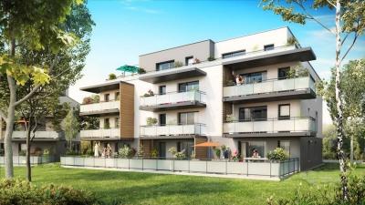 3 pièces ergersheim - 3 pièce (s) - 66.84 m²