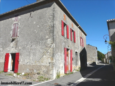 MAISON DE VILLAGE STE LIVRADE SUR LOT - 5 pièce(s) - 160 m2