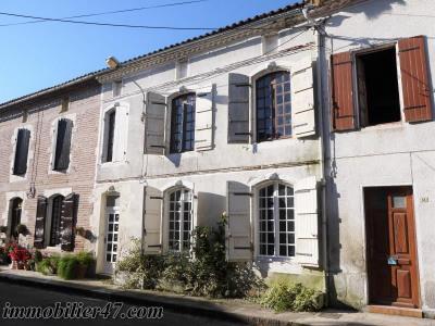 Maison de village granges sur lot - 4 pièces - 110 m²