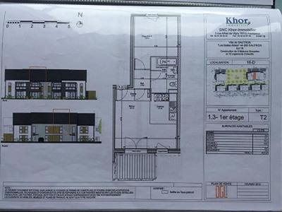 Appartement Sautron 2 pièce (s) 43.30 m²