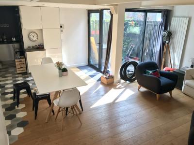 Duplex style loft de 4 pièces