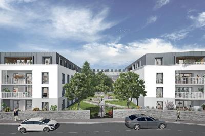 Appartement Angers Rive Droite 1Bis pièce (s) 32,60m²